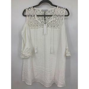 Heartloom Revolve XS Dress Cold shoulder lace